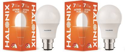 HALONIX 7 W Round B22 LED Bulb