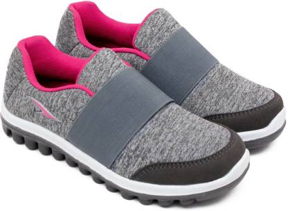 Asian Sketch-23 Grey Pink Walking Shoes,Gym Shoes,Canvas Shoes,Training Shoes,Sports Shoes, Running Shoes For Women