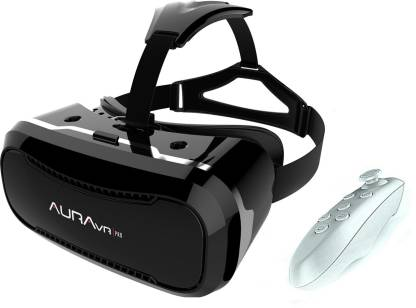 AuraVR Pro VR Headset/Virtual Reality Gear comes with 42mm lenses