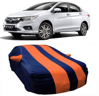 HDSERVICES Car Cover For Honda City ZX (With Mirror Pockets)