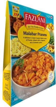 FAZLANI FOODS Ready to Eat Malabar Prawns Curry, (Pack of 1, 285gm) 285 g