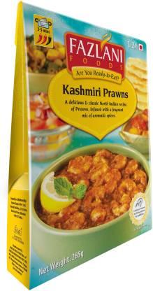 FAZLANI FOODS Ready to Eat Kashmiri Prawns Curry, (Pack of 1, 285gm) 285 g