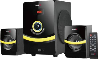 iBELL R260 2.1 Multimedia Home Theatre Speaker System 45 W Bluetooth Home Theatre
