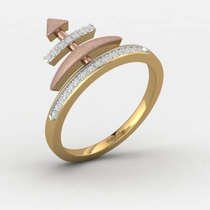ShipJewel Arrow Crown Ring-18KT Gold-12 18kt Diamond Yellow Gold ring