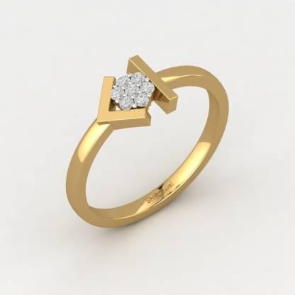 ShipJewel Diamond Arrow Ring-14KT Gold-26 14kt Diamond Yellow Gold ring