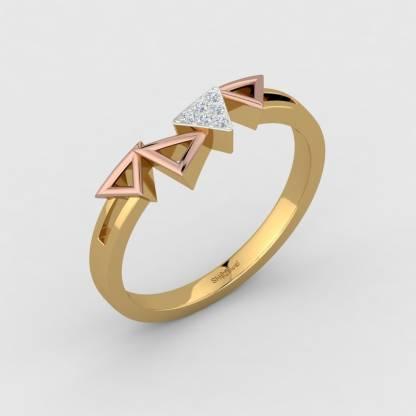 ShipJewel Angle quad Ring-18KT Gold-6 18kt Diamond Yellow Gold ring