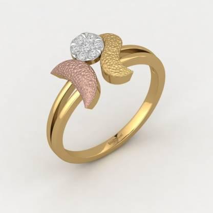 ShipJewel Moon Direction Ring-14KT Gold-18 14kt Diamond Yellow Gold ring