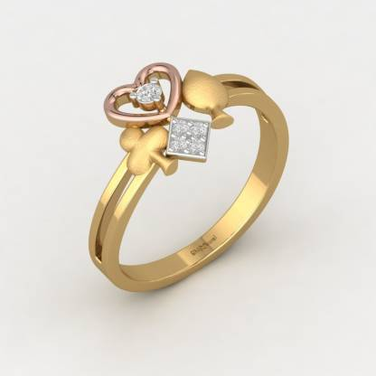 ShipJewel Squad Goals Ring-18KT Gold-12 18kt Diamond Yellow Gold ring