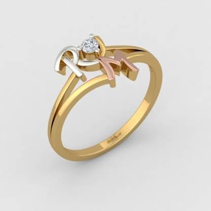 ShipJewel R & M Ring-18KT Gold-6 18kt Diamond Yellow Gold ring