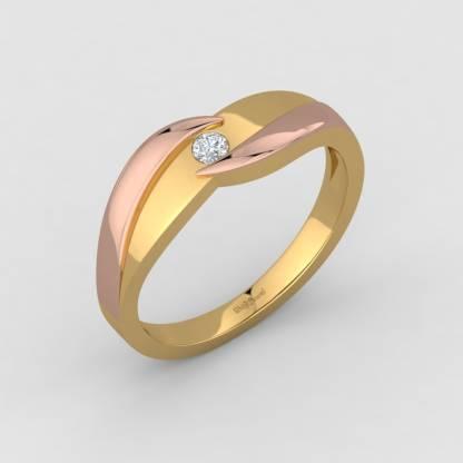 ShipJewel Mrs. Perfect Couple Band-18KT Gold-6 18kt Diamond Yellow Gold ring