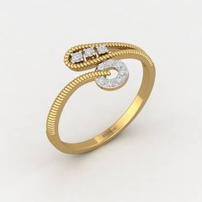 ShipJewel Snakes&Ladder Ring-18KT Gold-16 18kt Diamond Yellow Gold ring