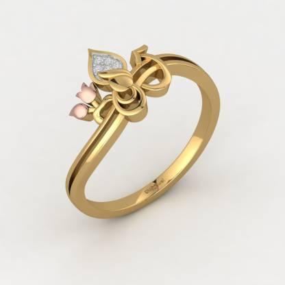 ShipJewel Sarveshwara Religious Ring-18KT Gold-6 18kt Diamond Yellow Gold ring