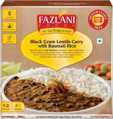 FAZLANI FOODS Ready to Eat Dal Makhani with Basmati Rice (300gm) 300 g