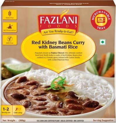 FAZLANI FOODS Ready to Eat Rajma Masala with Basmati Rice 300gm 300 g