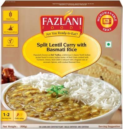 FAZLANI FOODS Ready to Eat Dal Tadka with Basmati Rice (300gm) 300 g