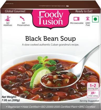 FAZLANI FOODS Ready to Eat Black Bean Soup (200gm)