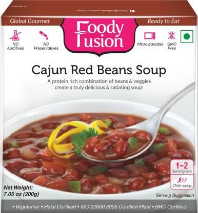 FAZLANI FOODS Ready to Eat Cajun red Beans Soup (200gm)