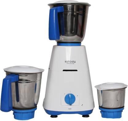 Kutchina FGSAMG500002 MISI DLX 500 500 Mixer Grinder (3 Jars, White)