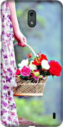 CASEMANTRA Back Cover for Nokia 2, TA-1029, TA-1035, TA-1007 - Flowers Print