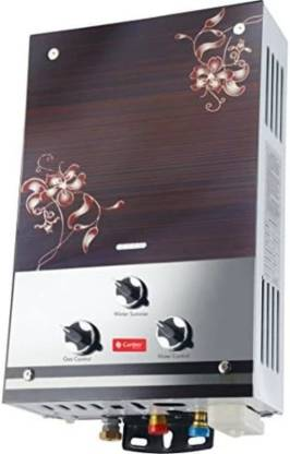 Candes 7 L Gas Water Geyser (GLASSY, Silver Brown)