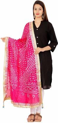 Kalpit Creations Art Silk Printed Women Dupatta
