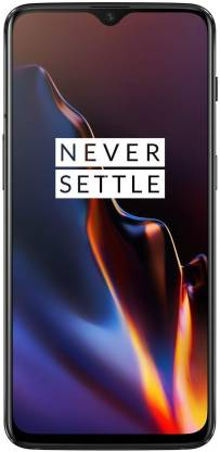 OnePlus 6T (Mirror Black, 128 GB)(6 GB RAM)