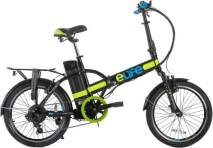 Elife Natural 20 inches 6 Gear Lithium-ion (Li-ion) Electric Cycle