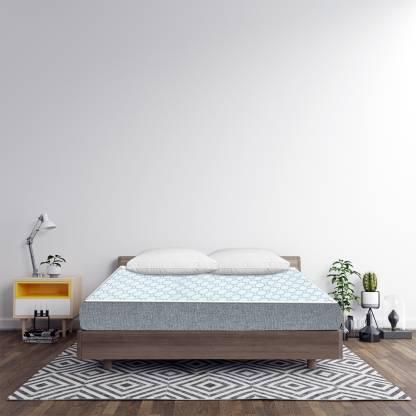 Sleep Spa Oeko Tex Certified Icy Cool Fabric 4 inch Single High Resilience (HR) Foam Mattress