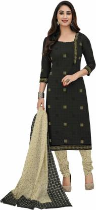 Miraan Cotton Printed Kurta & Churidar Material