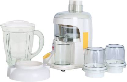 BMS Lifestyle JUICER 4 IN 1 Food Processor Multi-Function 400 Juicer Mixer Grinder