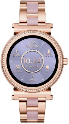Michael Kors Sofie Smartwatch  (Gold Strap, Free Size)