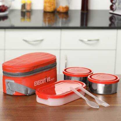 MILTON Executive 3 Containers Lunch Box