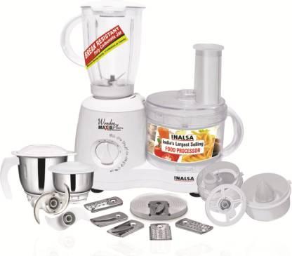 Inalsa Wonder Maxie Plus V2 700 W Food Processor
