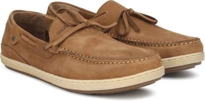 Woodland Boat Shoes For Men