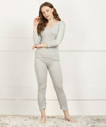 Dreambe Women Top - Pyjama Set Thermal