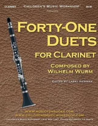 Forty-One Duets for Clarinet