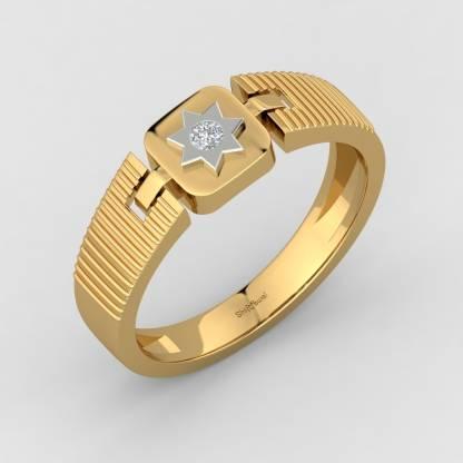 ShipJewel Great Warrior Ring 18kt Diamond Yellow Gold ring
