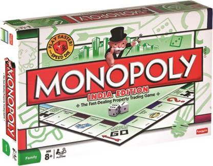 FUNSKOOL Monopoly - India Edition Money & Assets Games Board Game