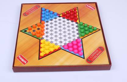 FUNSKOOL Chinese Checkers Strategy & War Games Board Game