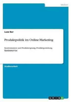 Produktpolitik im Online-Marketing