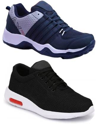 Marabous Combo Pack of 2 Sports Shoes Running Shoes For Men