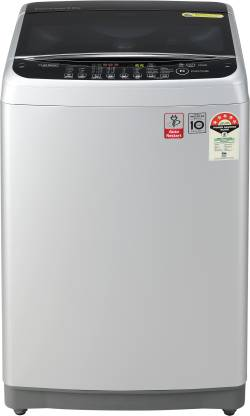 LG 7 kg 5 Star Rating Jet Spray Fully Automatic Top Load Silver