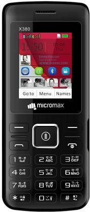 Micromax X380 Black