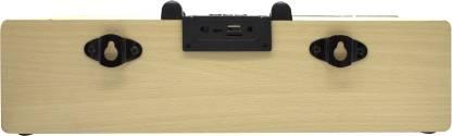 Ubon SP-45 Wooden 3.7 W Bluetooth Speaker