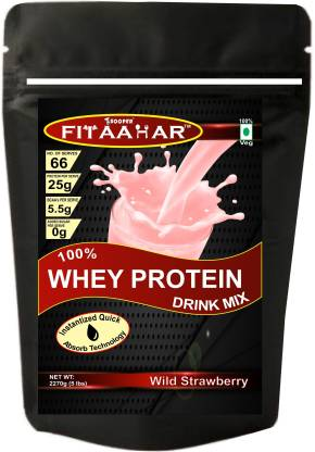 SOOPER FITAAHAR WHEY PROTEIN DRINK MIX 5lbs Whey Protein