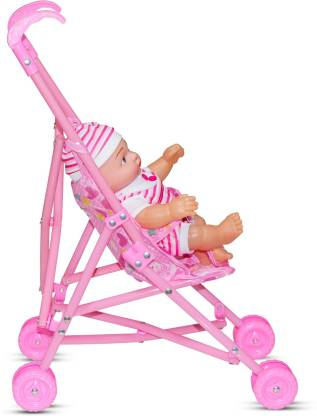 Akshat Baby Stroller Doll Trolley Nursery Furniture Toys