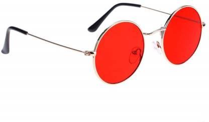 JUST STYLE Round Sunglasses