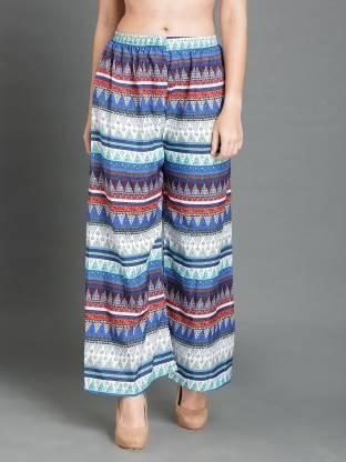DARZI Regular Fit Women Multicolor Trousers