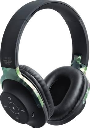 SoundLOGIC Heroes Edition AER Headphone Bluetooth Headset(Camo, On the Ear)