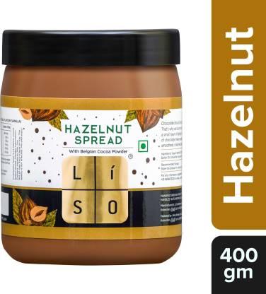 LISO Hazelnut Spread with Belgian cocoa powder, 0.4 kg